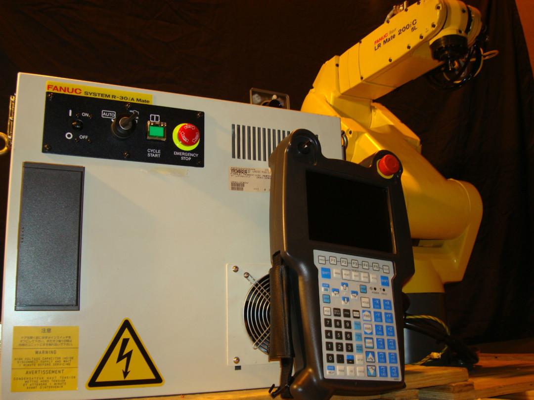 Fanuc Robot LR Mate 200iC 5L R30iA Controller Vision