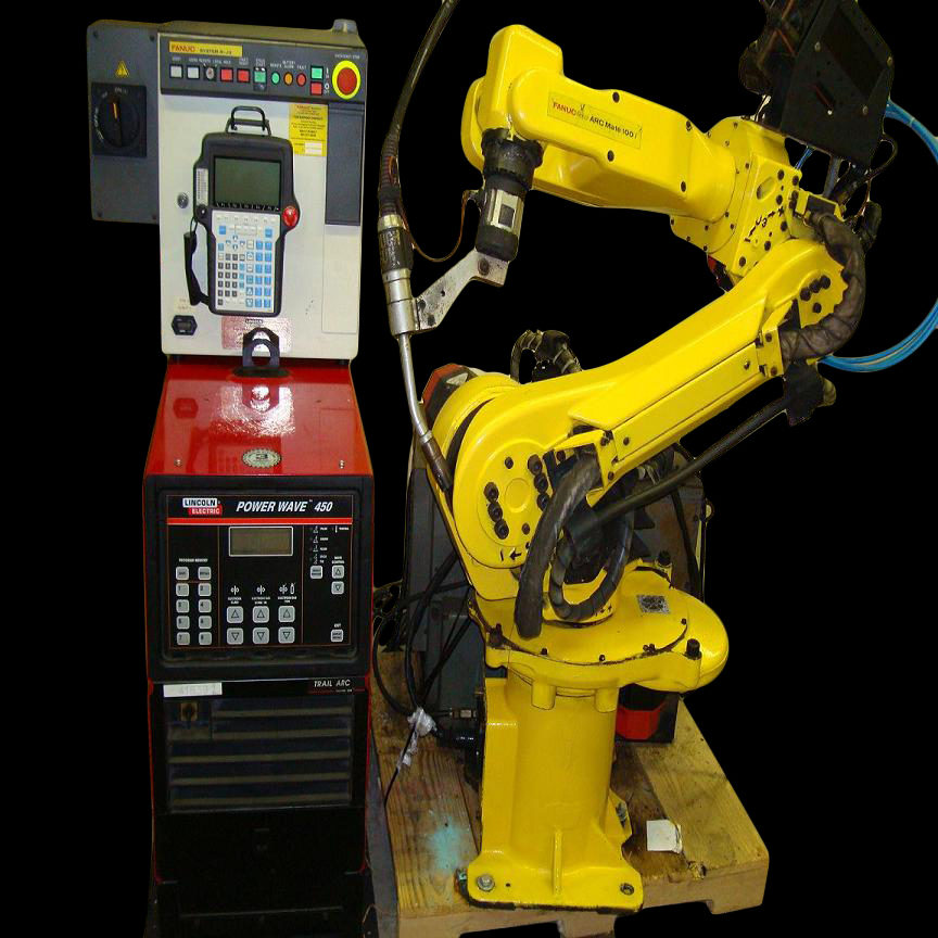 Fanuc Arcmate 100i Rj3 Lincoln Weld Package