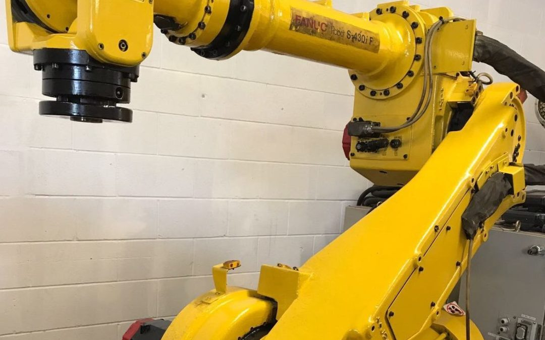 2 Fanuc 430iF Robot with Rj3 Control