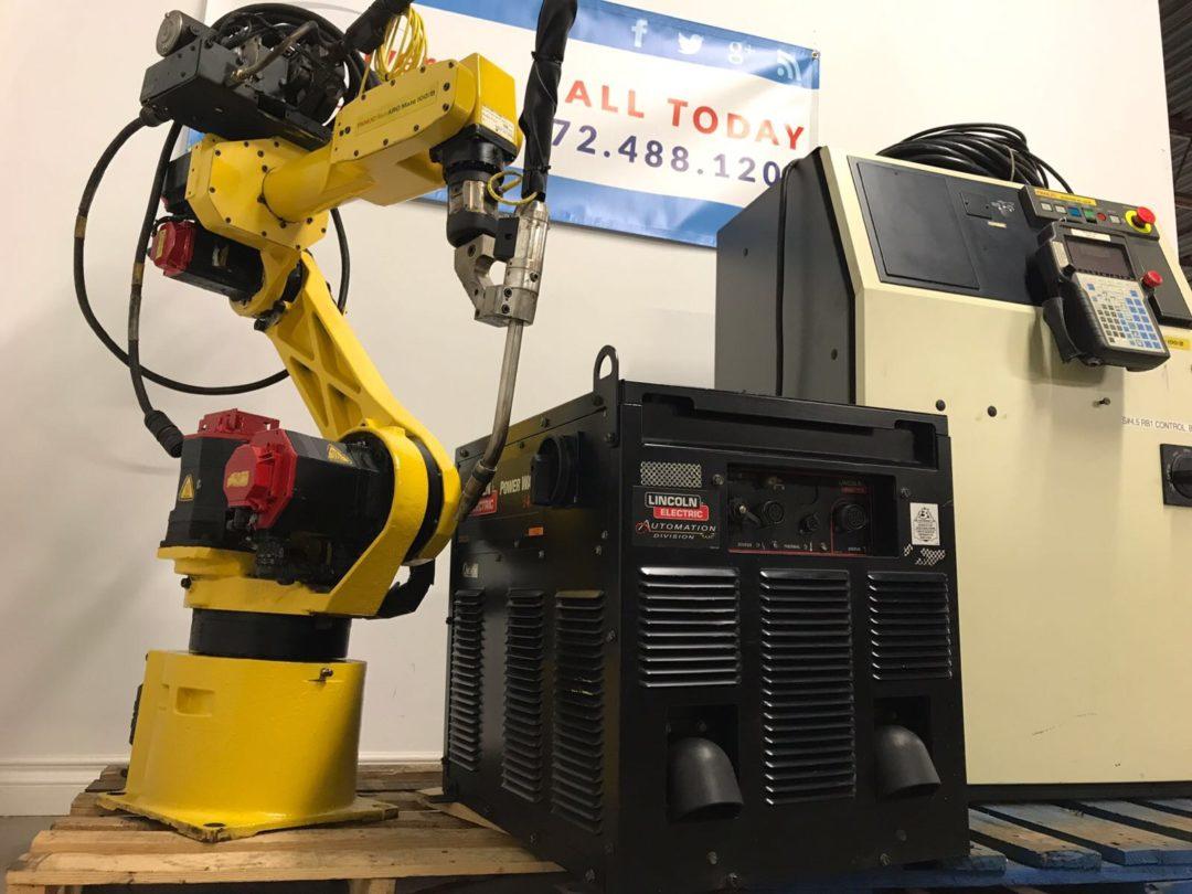 20 Fanuc Arcmate 100iB Robots with Rj3iB