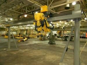 Top loader fanuc robot