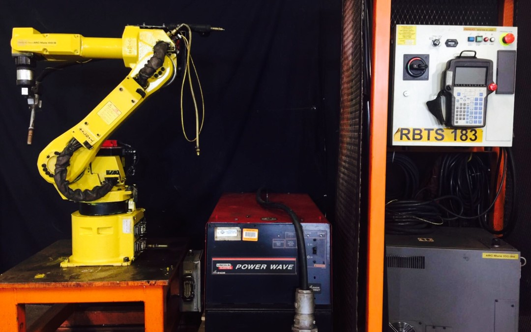 Fanuc Welding Robot Arcmate 100iB RJ3iC Lincoln 455