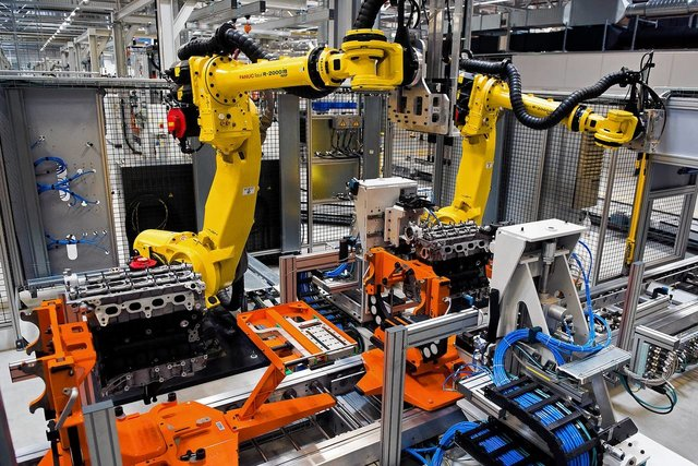 Used Industrial Robots For Sale Fanuc ABB By Universal Robotic inc