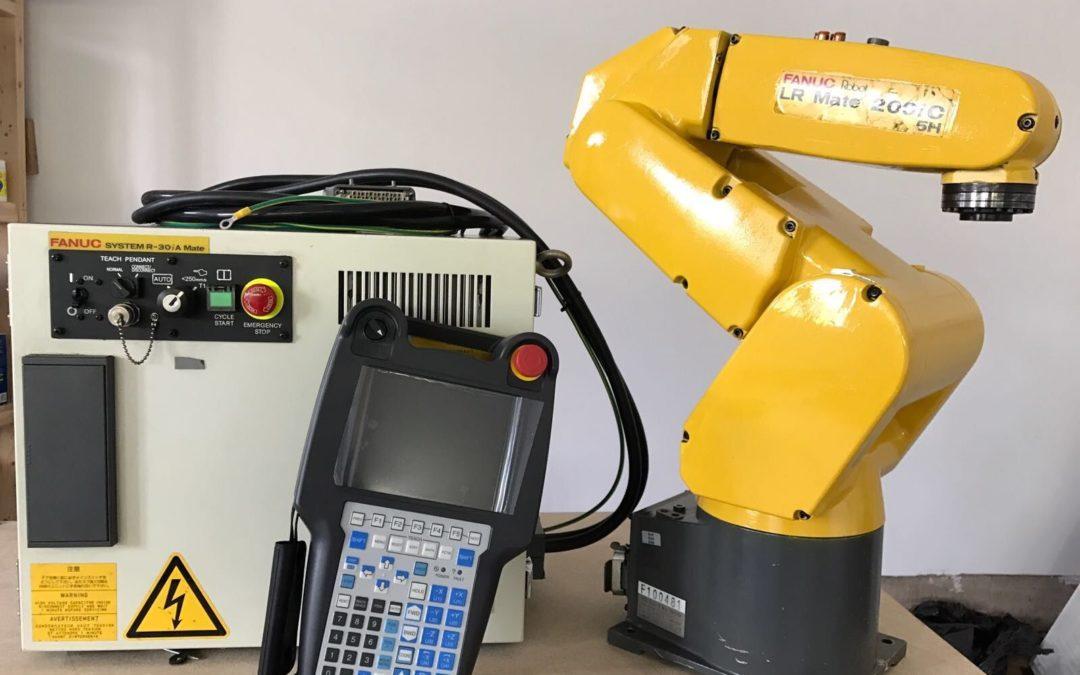 Fanuc Robot LR Mate 200iC 5H R30iA Controller