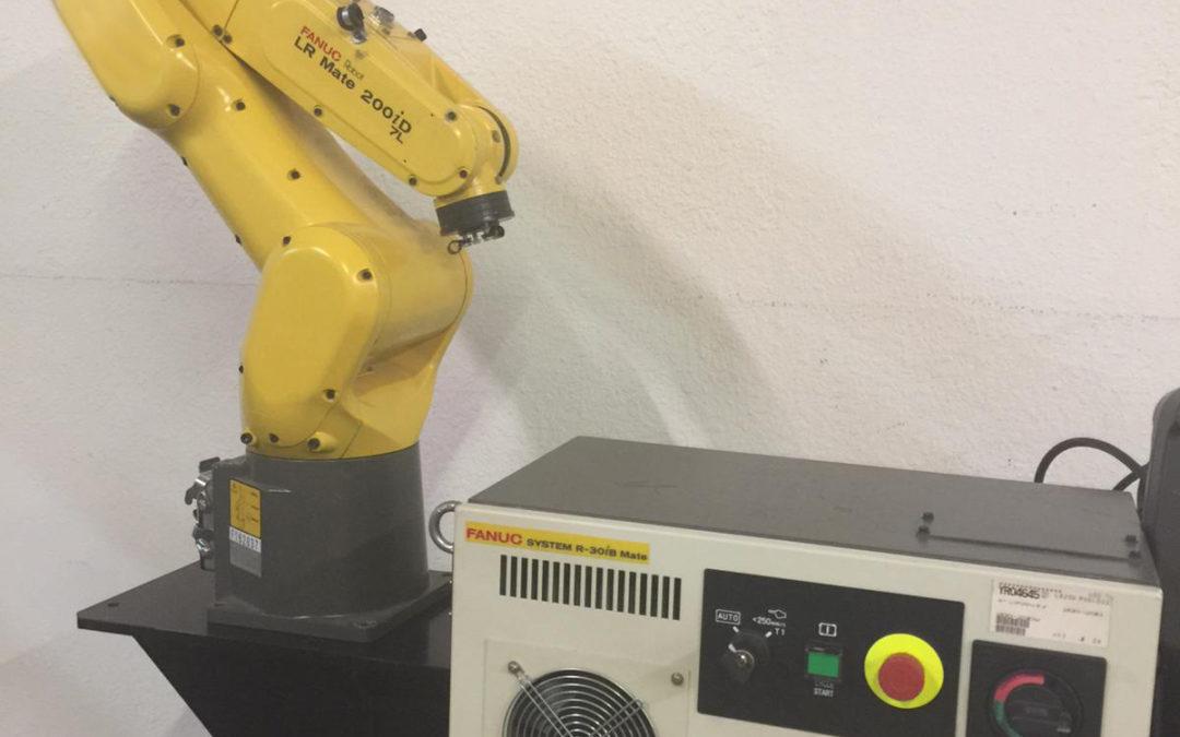 FANUC LR MATE 200iD 7H ROBOT R30iB CONTROL