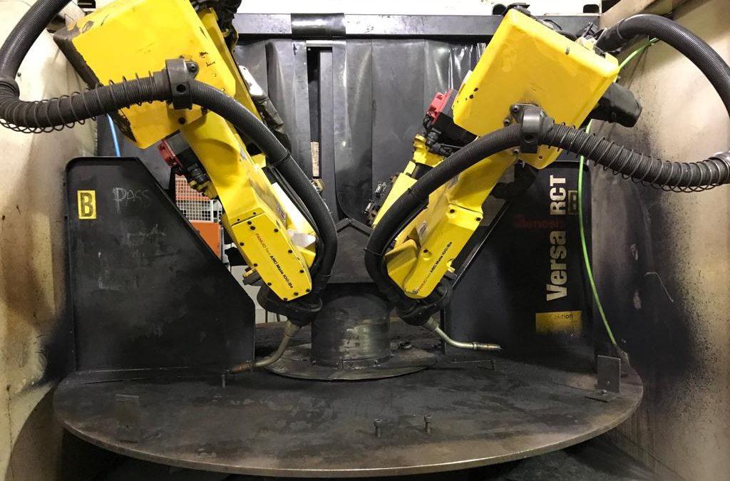 GENESIS Versa RCT Dual Robot Welding Cell 100iBe