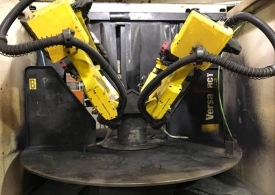 Genesis Systems Versa RCT | Dual Robots Welding Cell