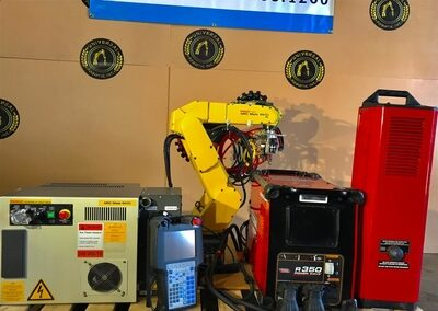 TIG Welding Robotic Cell | Arc mate 50iC/5L