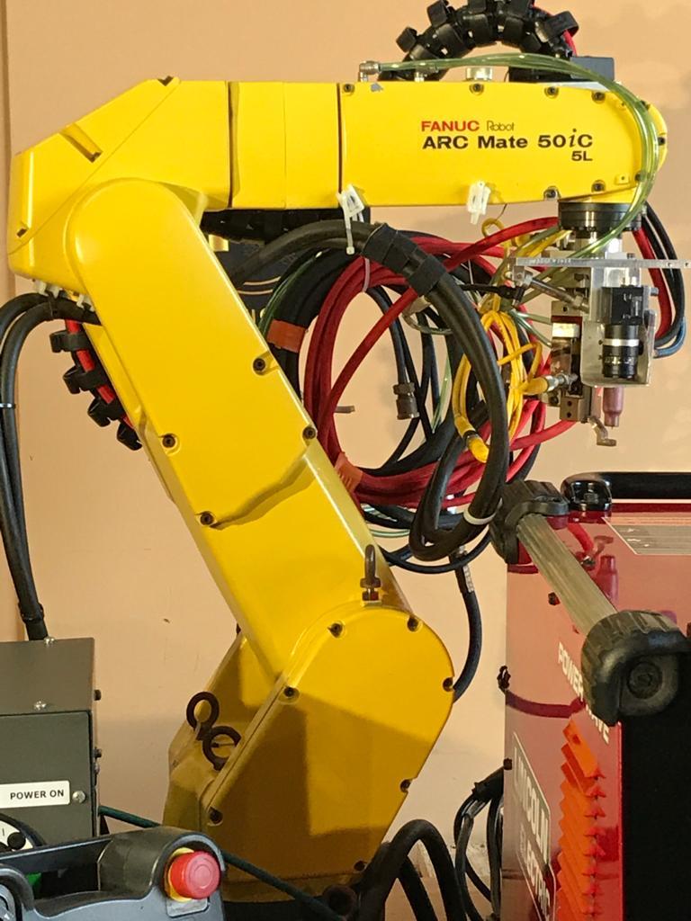 TIG WELDING ROBOTIC CELL