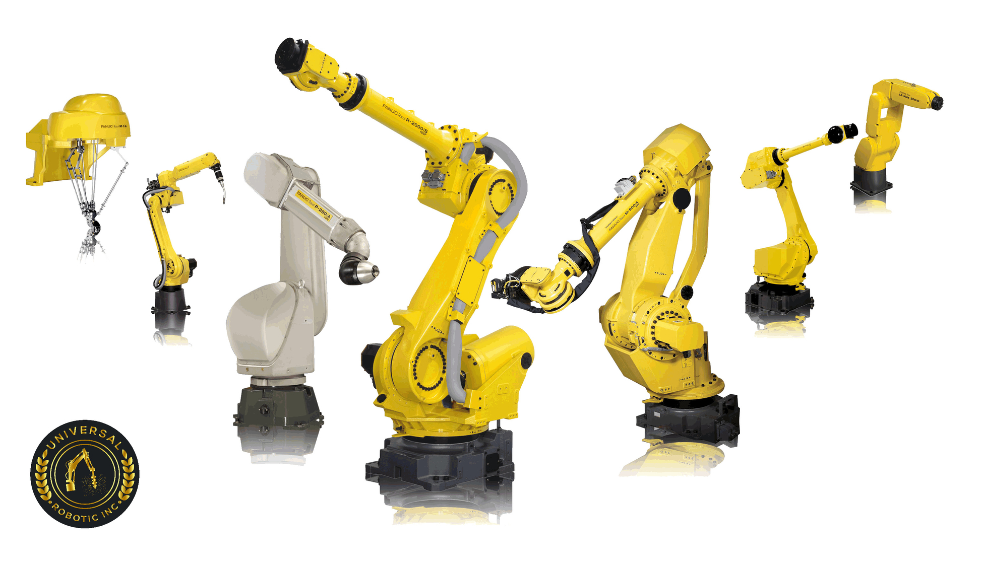 Industrial Robots for various applications